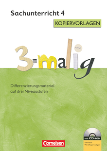 3-malig - Kopiervorlagen mit CD-ROM - 4. Schuljahr