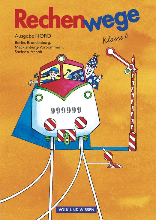 Rechenwege - Schülerbuch mit Kartonbeilagen - 4. Schuljahr