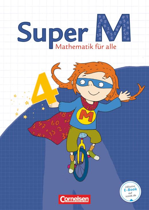 Super M - Schülerbuch mit Kartonbeilagen - 4. Schuljahr