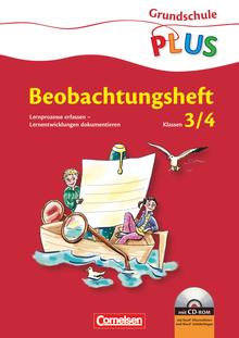 Grundschule plus - Lernprozesse erfassen - Lernentwicklungen dokumentieren - Beobachtungsbögen mit Excel-Klassenlisten - 3./4. Schuljahr