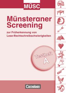 Münsteraner Screening (MÜSC) - 15 Testhefte A