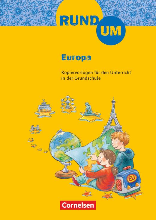 Rund um ... - Rund um Europa - Kopiervorlagen - 2.-4. Schuljahr