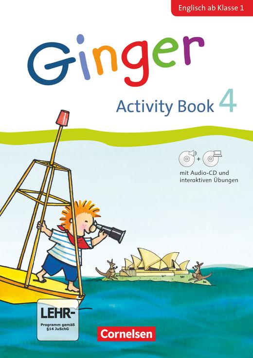 Ginger - Activity Book mit interaktiven Übungen auf scook.de - 4. Schuljahr