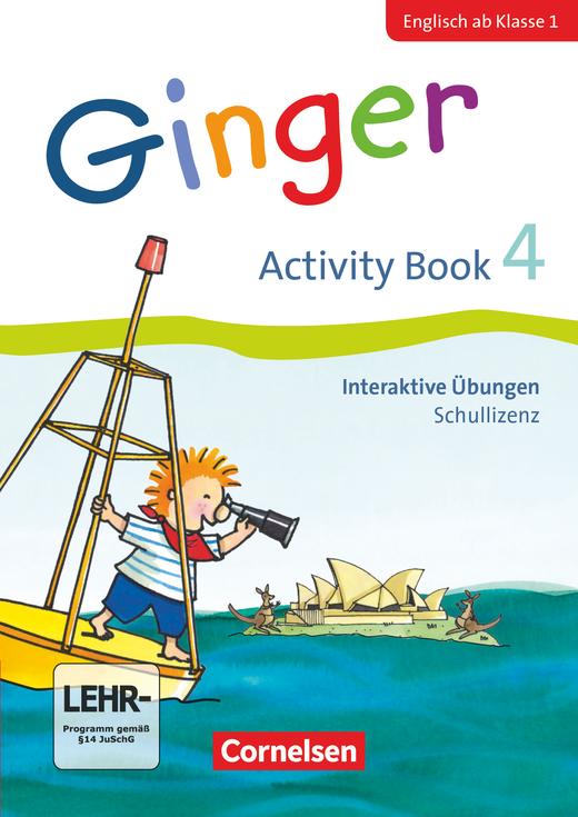 Ginger - Interaktive Übungen als Ergänzung zum Activity Book - 4. Schuljahr