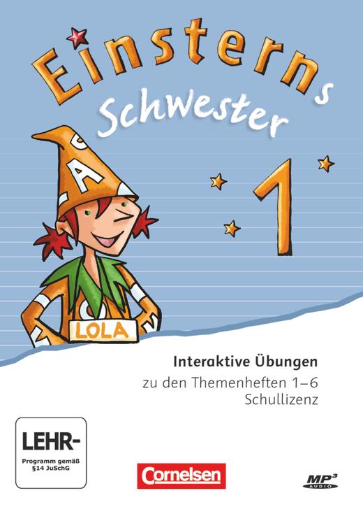 Einsterns Schwester - Interaktive Übungen als Ergänzung zu den Buchstabenheften - 1. Schuljahr