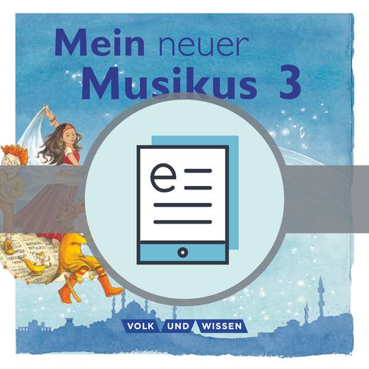 Mein neuer Musikus - Schülerbuch als E-Book - 3. Schuljahr
