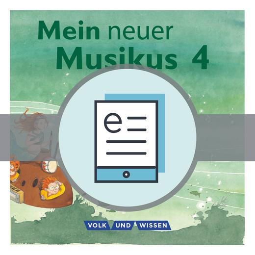 Mein neuer Musikus - Schülerbuch als E-Book - 4. Schuljahr