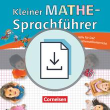 Kleiner Mathe-Sprachführer - Seiteneinsteigermaterial als Download