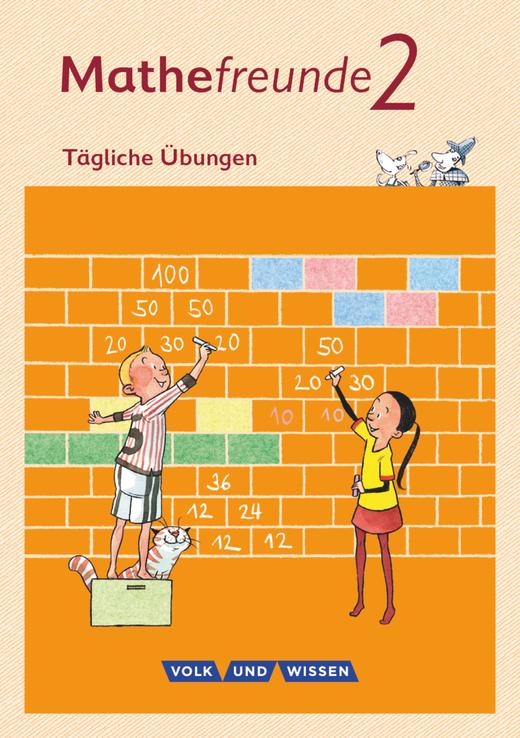 Mathefreunde - Tägliche Übungen - Arbeitsheft - 2. Schuljahr