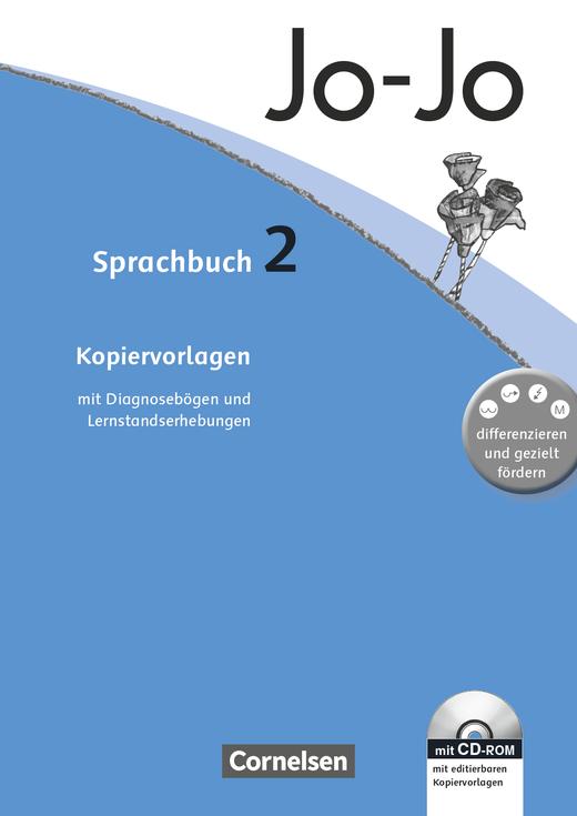 Jo-Jo Sprachbuch - Kopiervorlagen mit CD-ROM - 2. Schuljahr