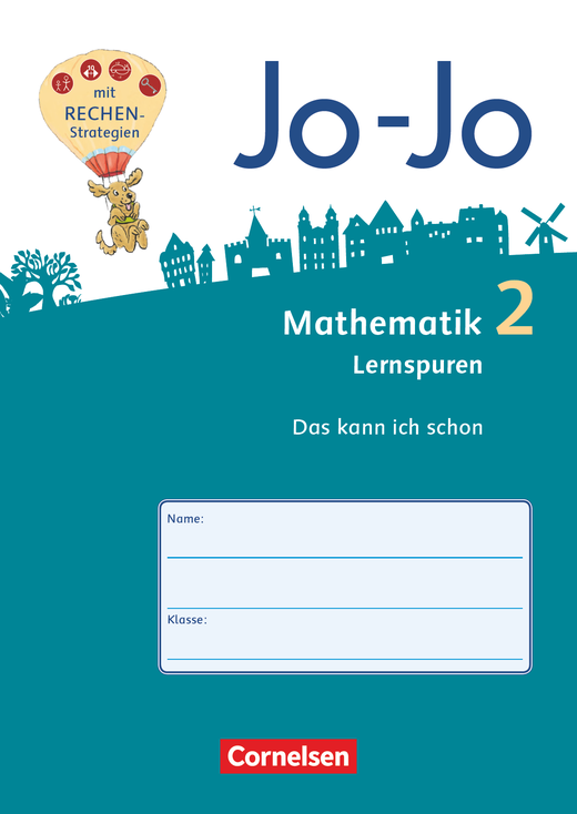 Jo-Jo Mathematik - Lernspurenheft (10er-Pack) - 2. Schuljahr