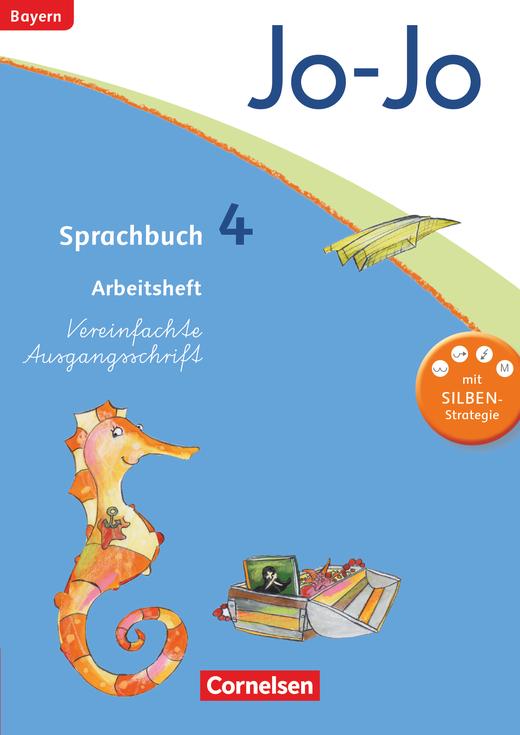 Jo-Jo Sprachbuch - Arbeitsheft in Vereinfachter Ausgangsschrift - 4. Jahrgangsstufe