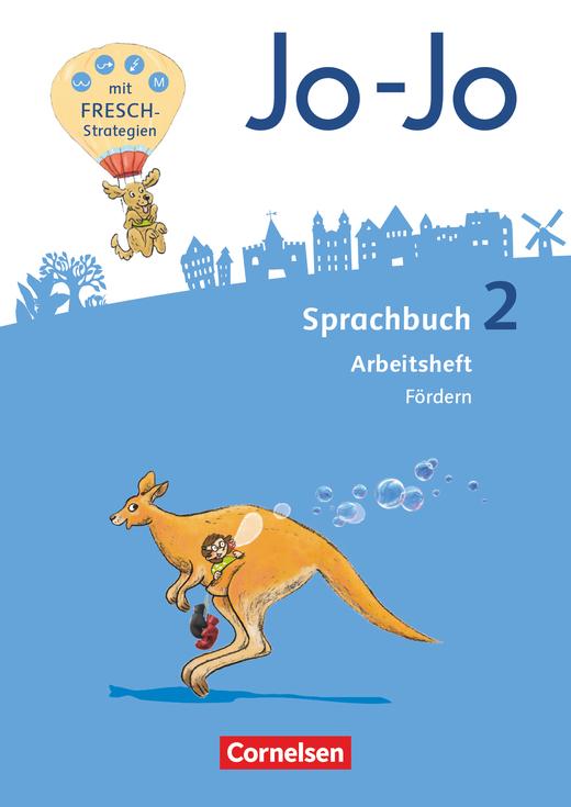 Jo-Jo Sprachbuch - Arbeitsheft Fördern - 2. Schuljahr
