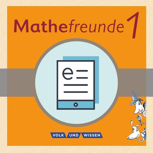 Mathefreunde - Schülerbuch als E-Book - 1. Schuljahr