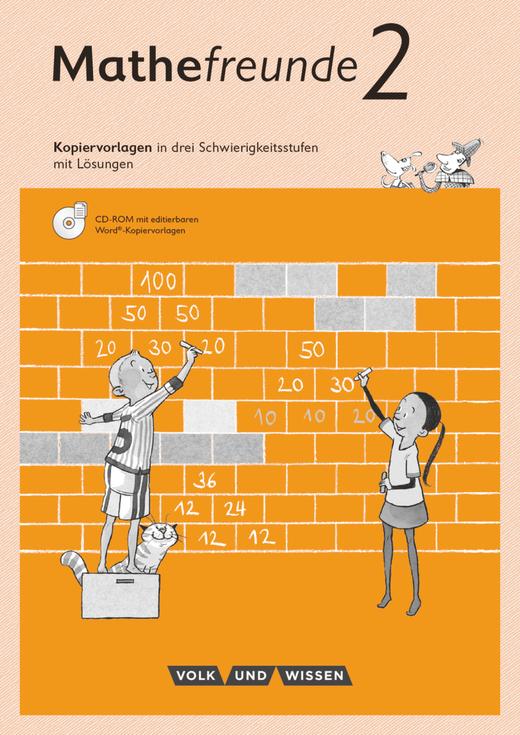 Mathefreunde - Kopiervorlagen mit CD-ROM - 2. Schuljahr