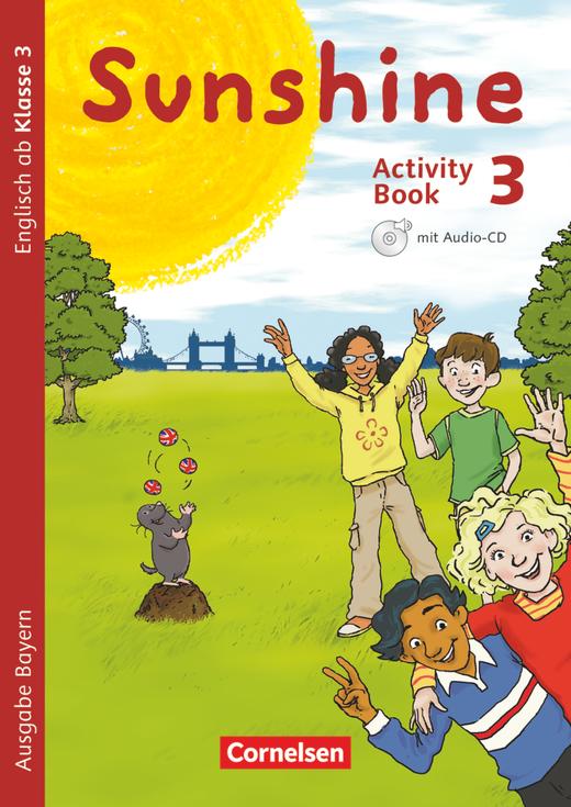 Sunshine - Activity Book - 3. Jahrgangsstufe