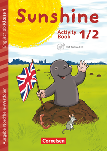 Sunshine - Activity Book mit Audio-CD, Minibildkarten und Faltbox - 1./2. Schuljahr
