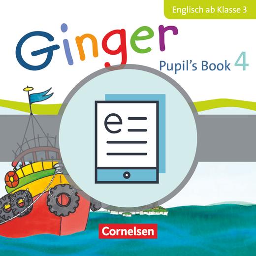 Ginger - Pupil's Book als E-Book - 4. Schuljahr