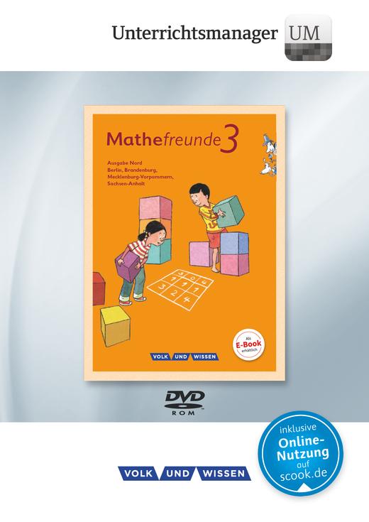 Mathefreunde - Unterrichtsmanager - Vollversion auf DVD-ROM - 3. Schuljahr
