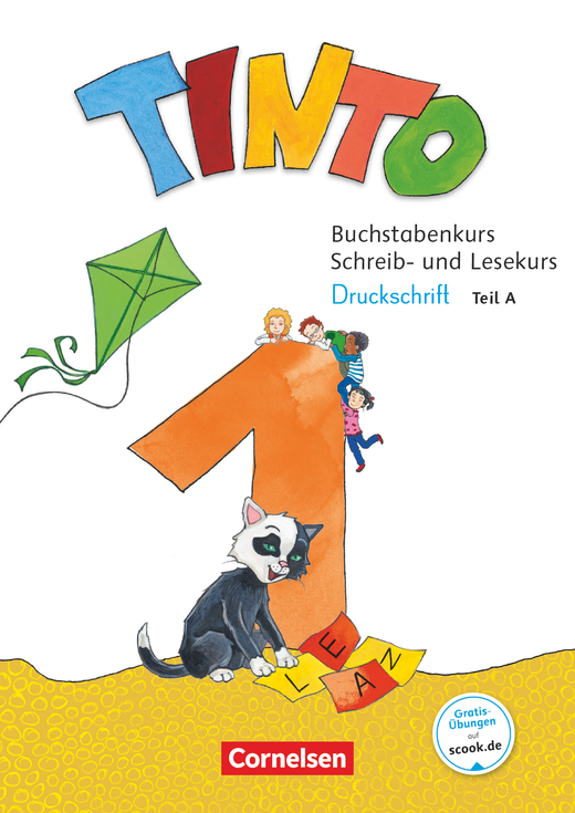 Tinto 1 - Buchstabenkurs mit Schreib- und Lesekurs Druckschrift - 1. Schuljahr