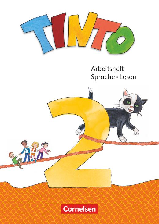 Tinto Sprachlesebuch 2-4 - Arbeitsheft Sprache und Lesen - 2. Schuljahr