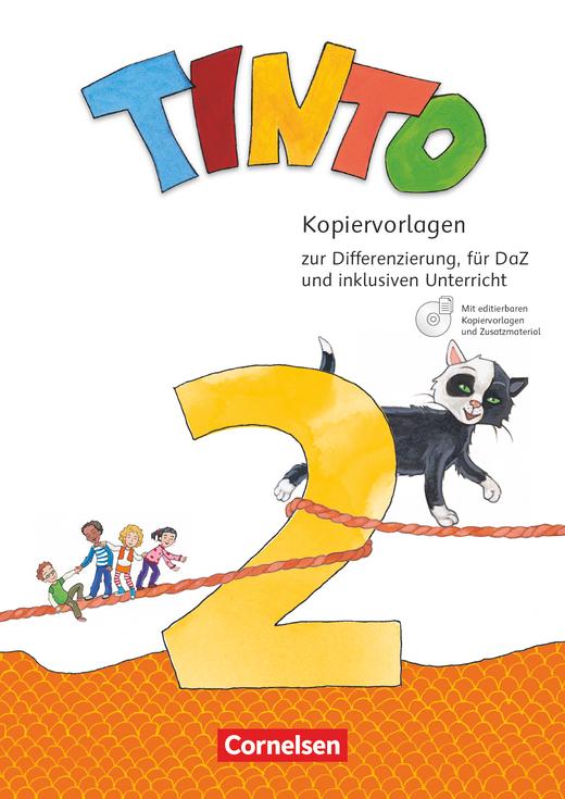Tinto Sprachlesebuch 2-4 - Kopiervorlagen mit CD-ROM - 2. Schuljahr