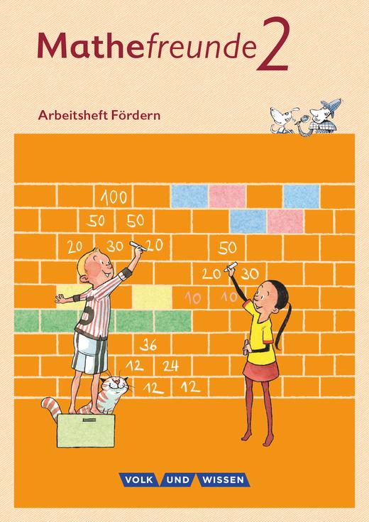 Mathefreunde - Arbeitsheft Fördern - 2. Schuljahr
