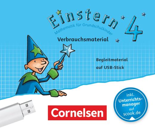 Einstern - Begleitmaterial auf USB-Stick - Verbrauchsmaterial - Band 4