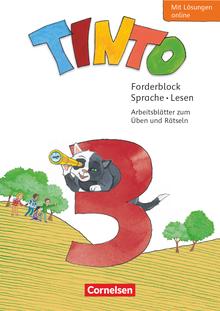 Tinto Sprachlesebuch 2-4 - Forderblock Sprache und Lesen - 3. Schuljahr