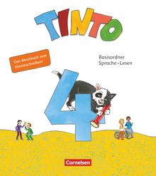 Tinto Sprachlesebuch 2-4 - Basisordner Sprache und Lesen zum Hineinschreiben - 4. Schuljahr