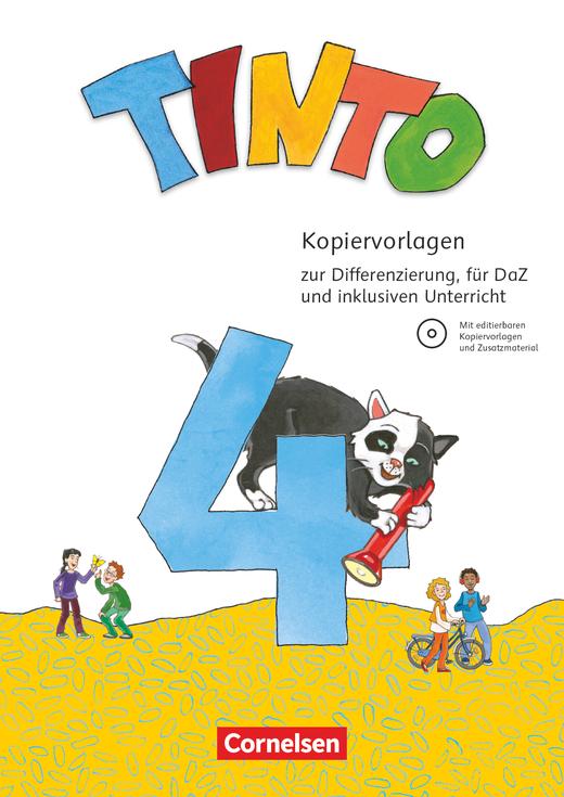 Tinto Sprachlesebuch 2-4 - Kopiervorlagen mit CD-ROM - 4. Schuljahr