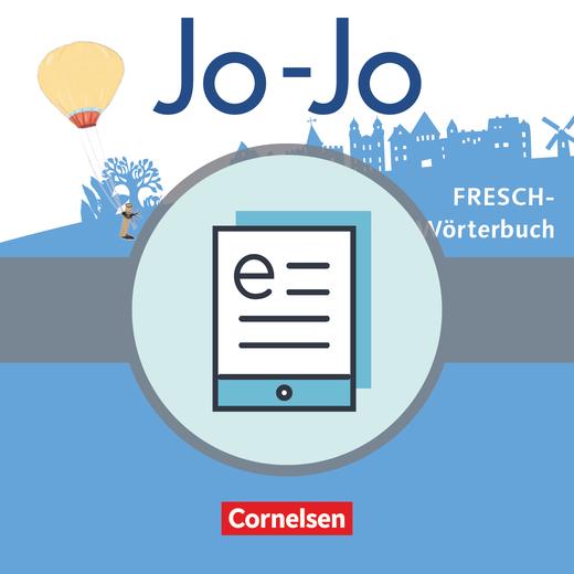 Jo-Jo Sprachbuch - Jo-Jo FRESCH-Wörterbuch als E-Book - 2.-4. Schuljahr