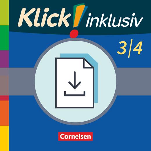 Klick! inklusiv - Grundschule / Förderschule - Lösungen zu den Themenheften 7-12 als Download - 3./4. Schuljahr