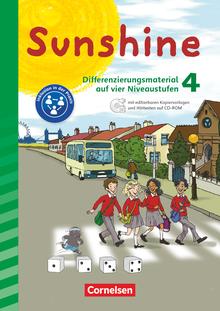 Sunshine - Differenzierungsmaterial auf vier Niveaustufen - 4. Schuljahr