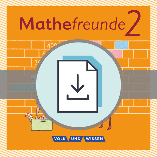 Mathefreunde - Lösungen zum Arbeitsheft Fördern als Download - 2. Schuljahr