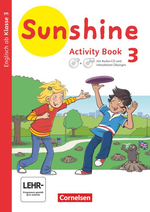 Sunshine - Activity Book mit interaktiven Übungen auf scook.de - 3. Schuljahr