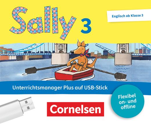 Sally - Unterrichtsmanager Plus auf USB-Stick - 3. Schuljahr