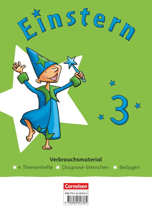 Einstern - Themenhefte 1-4 und Kartonbeilagen im Paket - Band 3