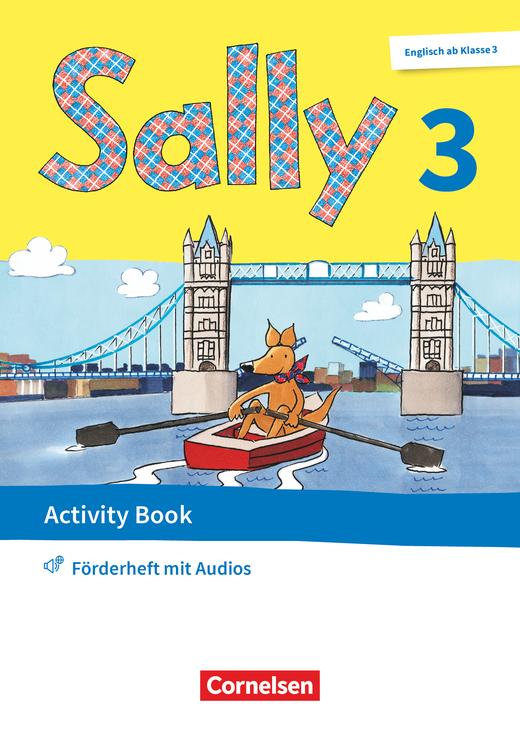 Sally - Activity Book: Förderheft - 3. Schuljahr
