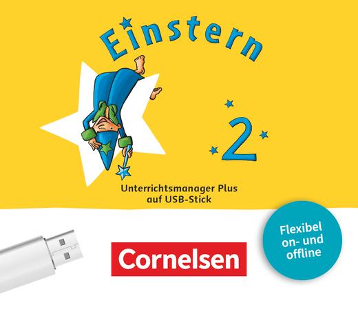 Einstern - Unterrichtsmanager Plus auf USB-Stick - Verbrauchsmaterial - Band 2