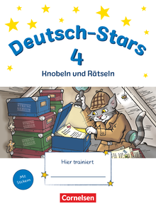 Deutsch-Stars - Knobeln und Rätseln - Übungsheft - 4. Schuljahr