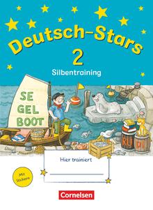 Deutsch-Stars - Silbentraining - Übungsheft - 2. Schuljahr