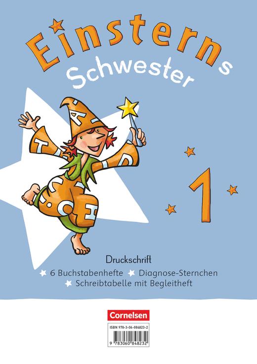 Einsterns Schwester - Druckschrift: 6 Buchstabenhefte im Paket - 1. Schuljahr