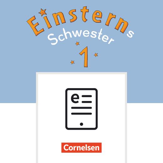 Einsterns Schwester - Buchstabenhefte Druckschrift als E-Book - 1. Schuljahr