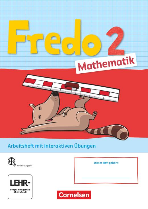 Fredo - Mathematik - Arbeitsheft mit interaktiven Übungen auf scook.de - 2. Schuljahr