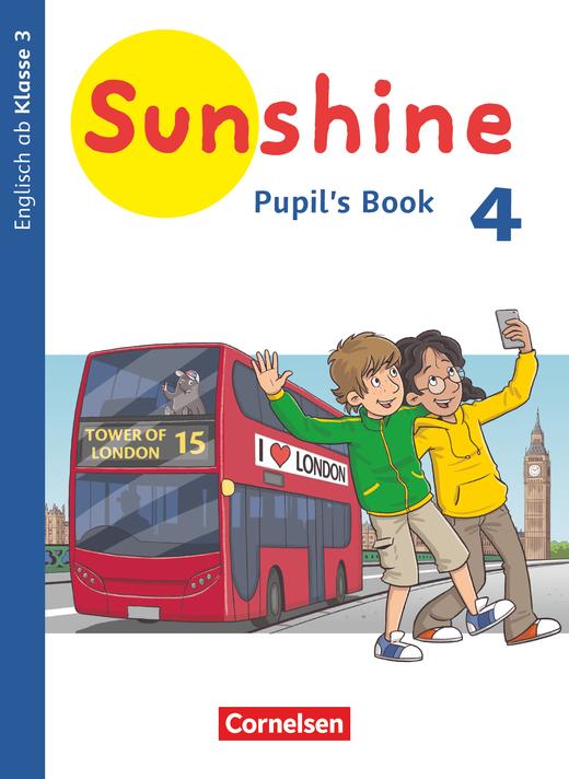 Sunshine - Pupil's Book - 4. Schuljahr