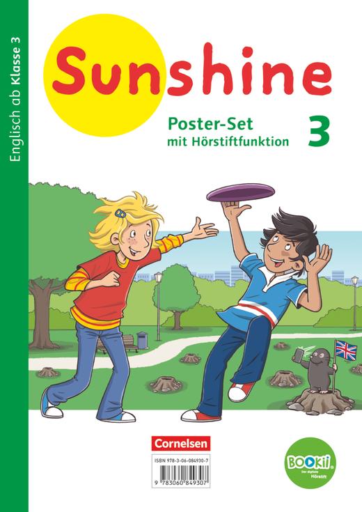 Sunshine - Poster-Set mit BOOKii-Funktion und Beilage - 3. Schuljahr