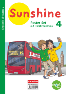 Sunshine - Poster-Set mit BOOKii-Funktion und Beilage - 4. Schuljahr