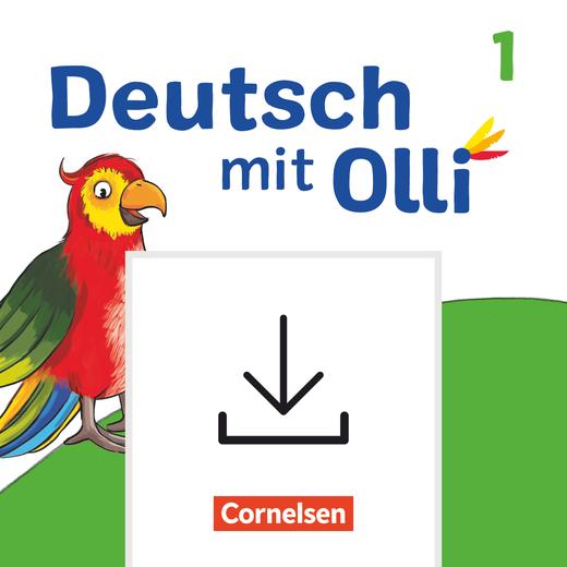 Deutsch mit Olli - Lösungen zum Arbeitsheft Start, Leicht / Basis und Basis / Plus als Download - 1. Schuljahr