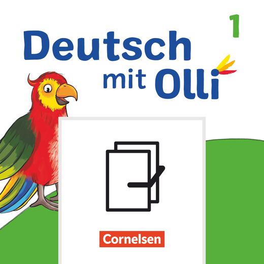 Deutsch mit Olli - Arbeitsheft Start und Basis / Plus in Grundschrift - 1. Schuljahr